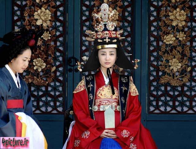 عکس بانو این هیون,ملکه این هیون,دانگ یی