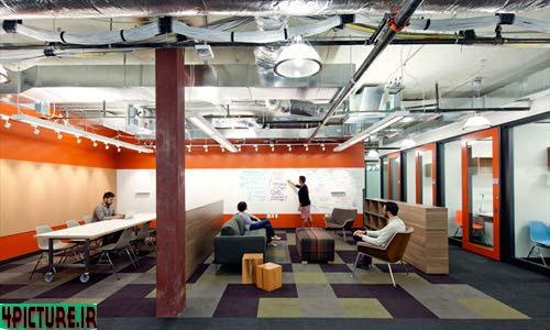 عکس ساختمان جدید مایکروسافت