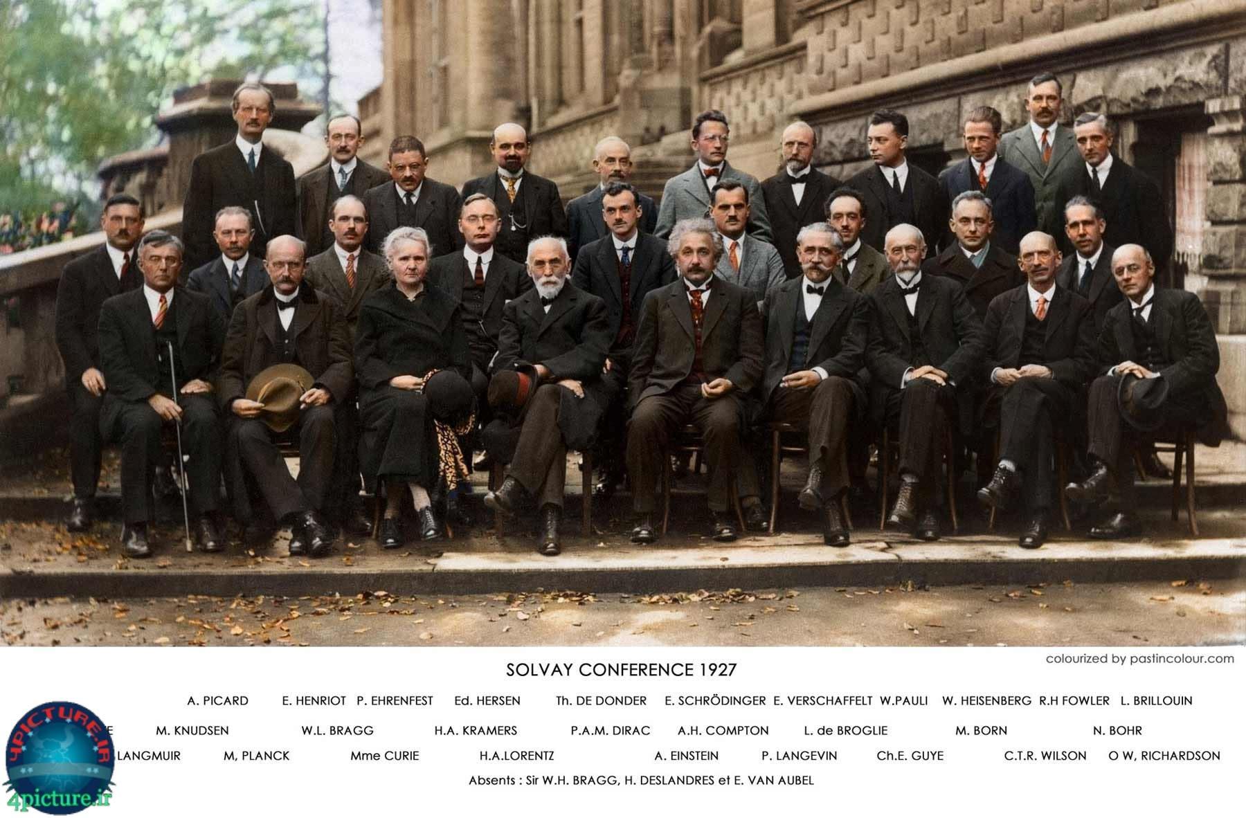 عکس فیزیک دانان,عکس دسته جمعی فیزیکدانان