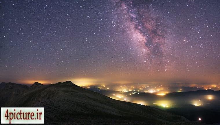 کهکشان راهشیری,نجوم,عکس ستارگان
