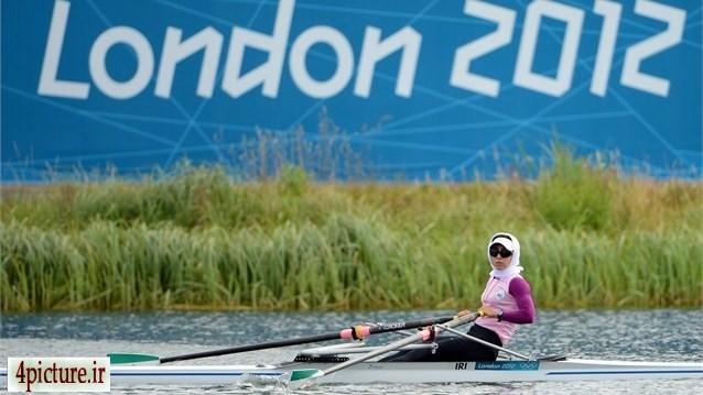 المپیک لندن   سولماز عباسی ازاد