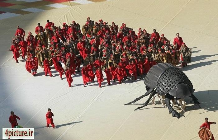 تصاویر افتتاحیه المپیک 2012 لندن